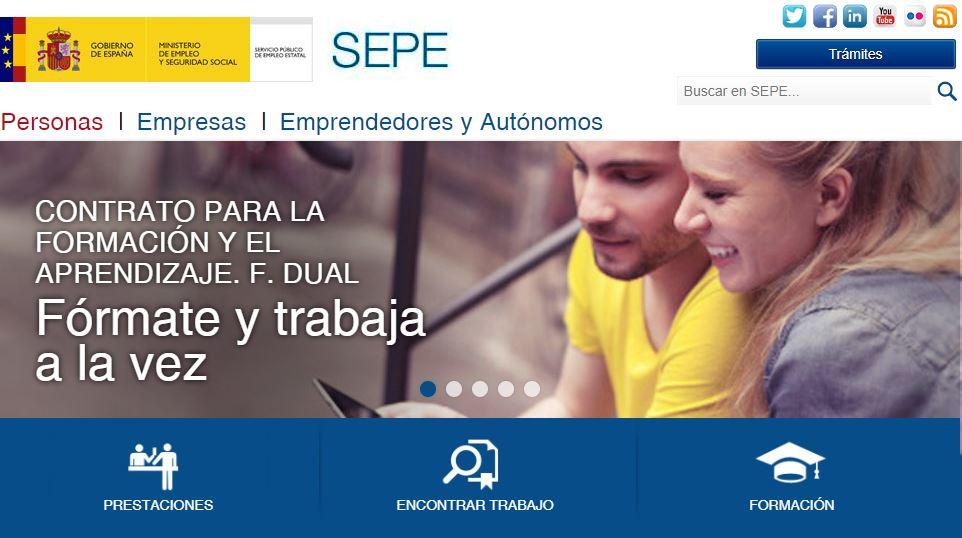 Obtener el certificado de prestaciones del SEPE