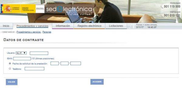 C mo conseguir un certificado del inem paso a paso for Oficina electronica sepe