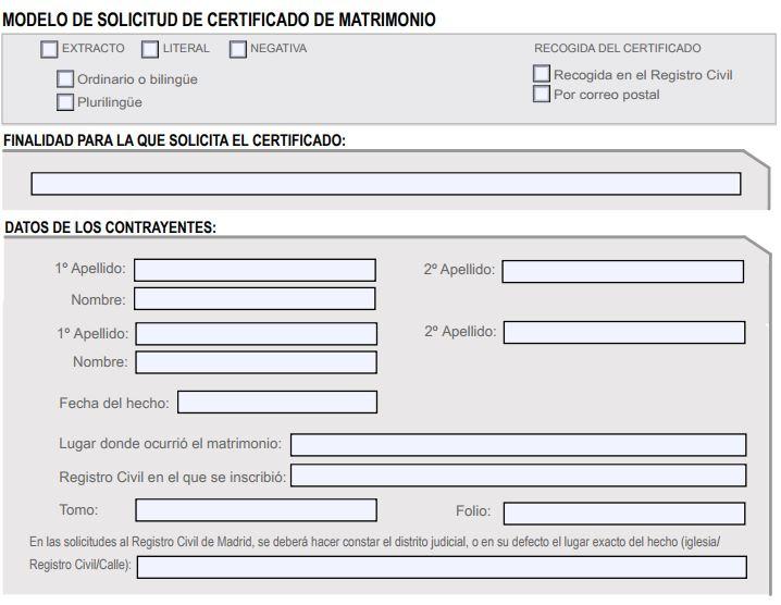 Certificado de Matrimonio: Cómo Conseguirlo por Internet - Adminfácil