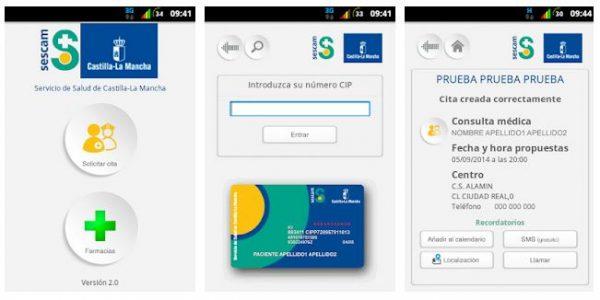 App móvil SESCAM