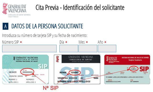 Cita previa en el Servicio Valenciano de Salud