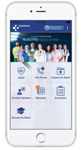 App Portal Móvil Osakidetza